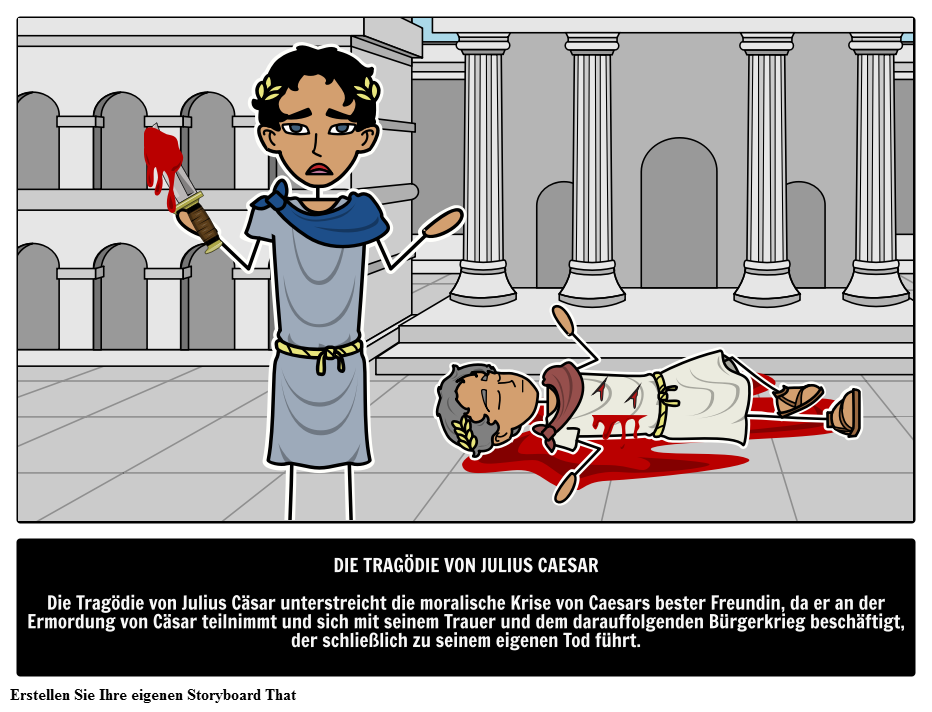 Die Tragödie von Julius Cäsar Zusammenfassung | William Shakespeare ...