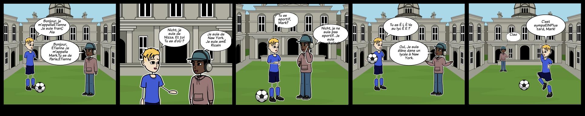 Französisch kennenlernen dialog