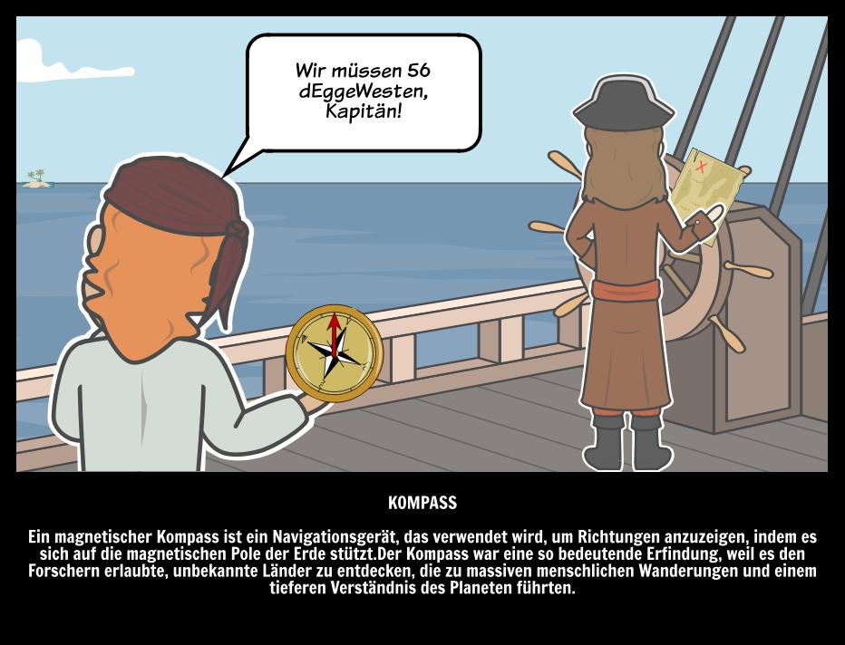 Kompass | Die Bedeutendsten Erfindungen und Entdeckungen der Welt