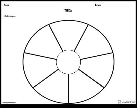 Kreisdiagramm - 9