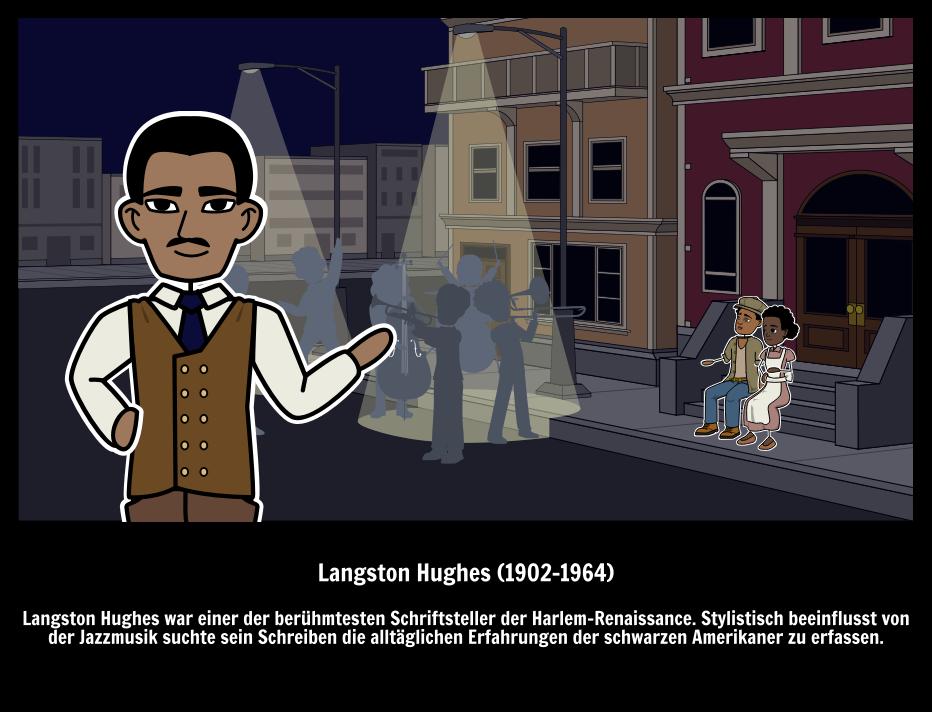 Große Leute - Berühmte Dichter & Autoren - Langston Hughes