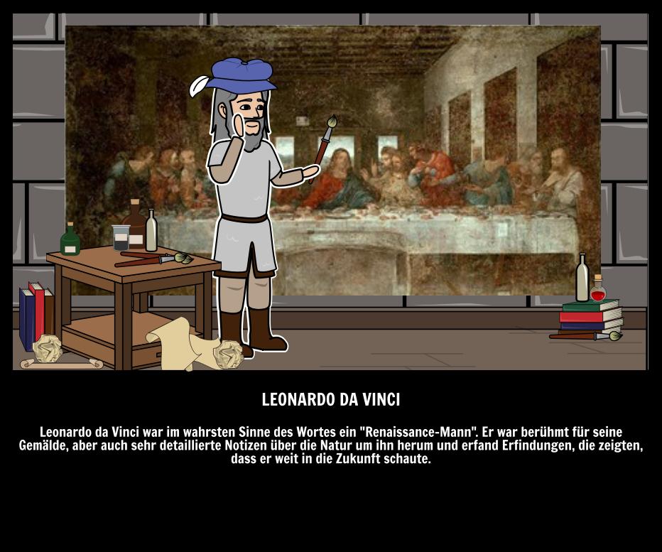 Leonardo da Vinci Gemälde & Erfindungen | Große Leute