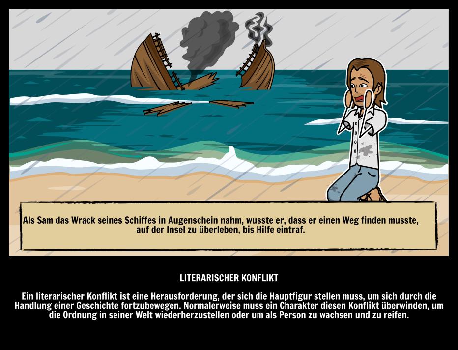 Literaturkonflikt in der Literatur   Illustrierter Leitfaden zu ...