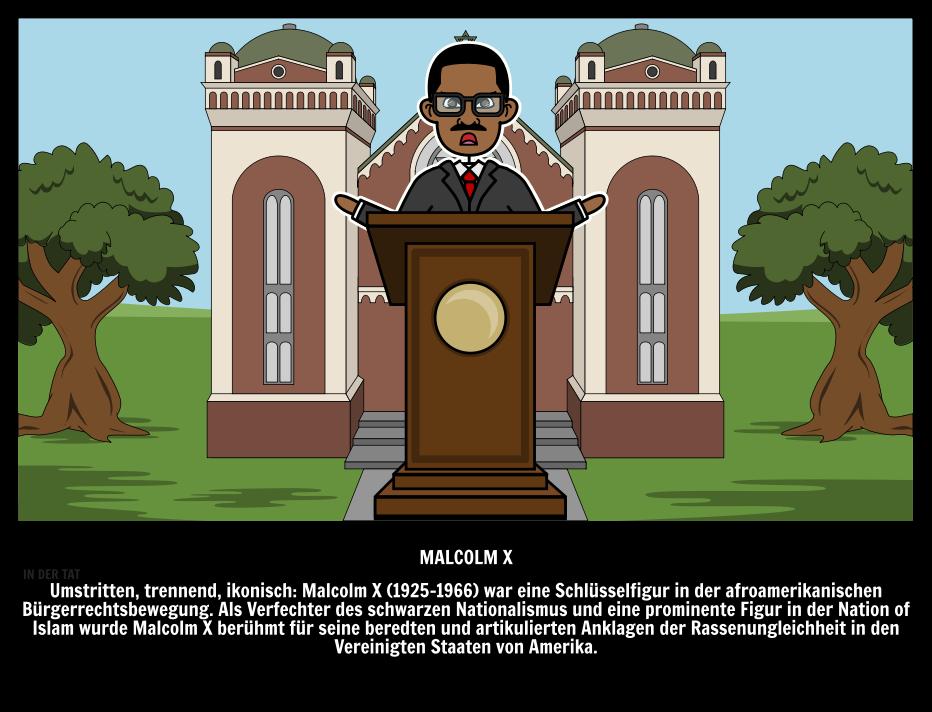Malcolm X Zitate und Biographie | Leitfaden für Einflussreiche Menschen
