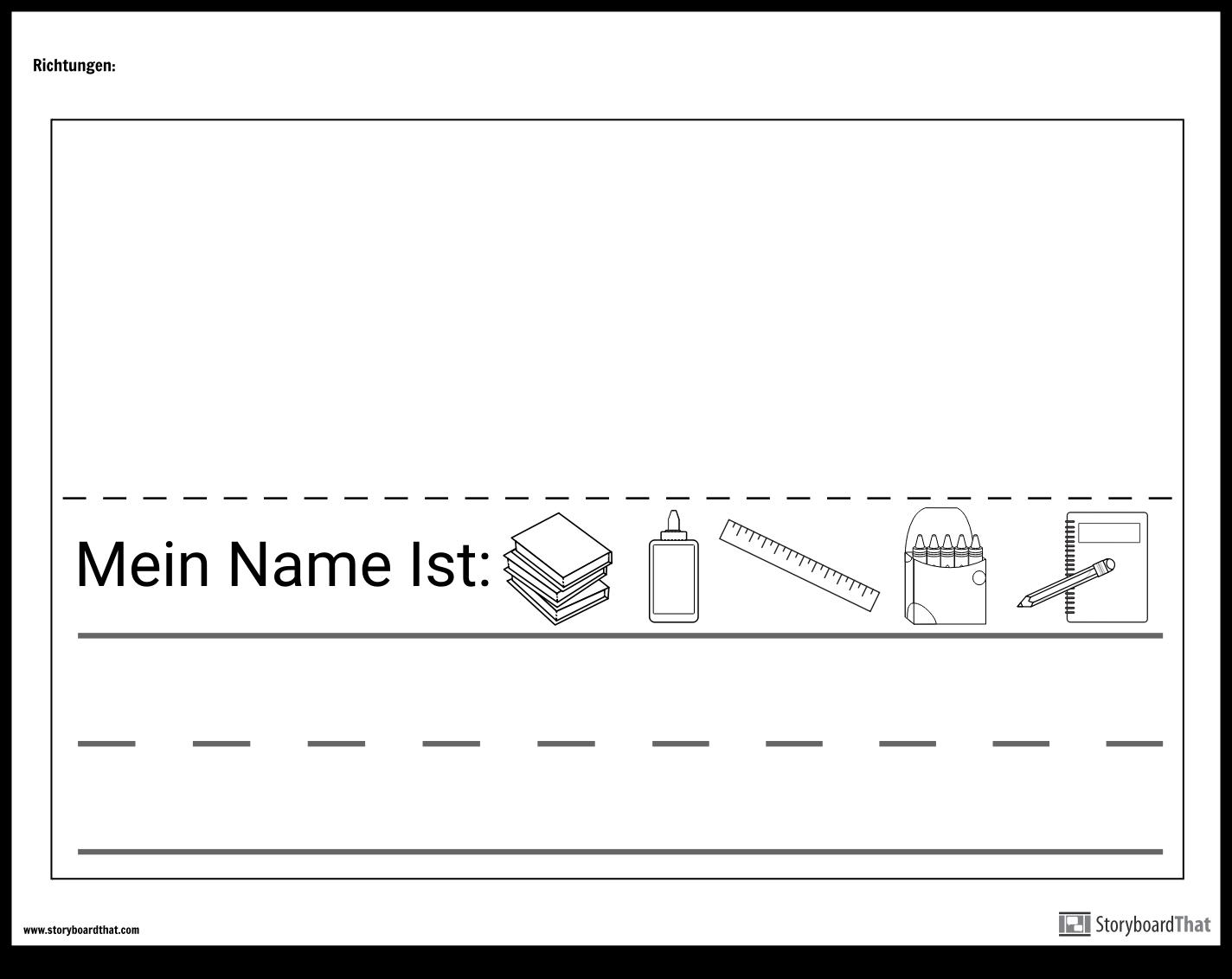 Namensschild