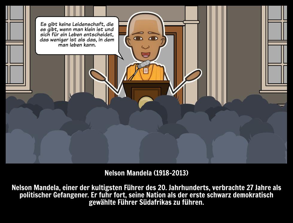 Nelson Mandela | Illustrierter Leitfaden für Große Menschen in der ...