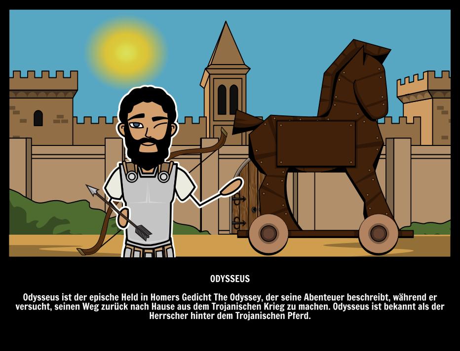 Griechische Helden Odysseus Schlauer Held Der Odyssee