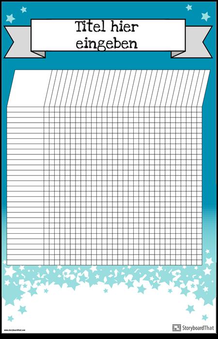 Schüler Diagramm Poster