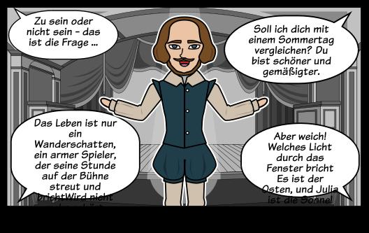 Shakespeare Zitate Storyboard Von De Examples