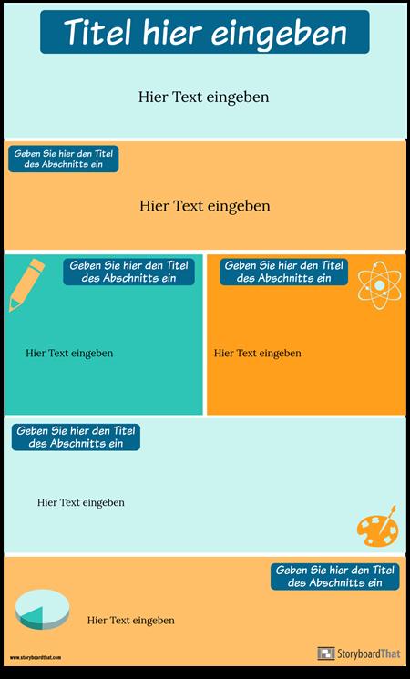 Strategien Infographik Vorlage