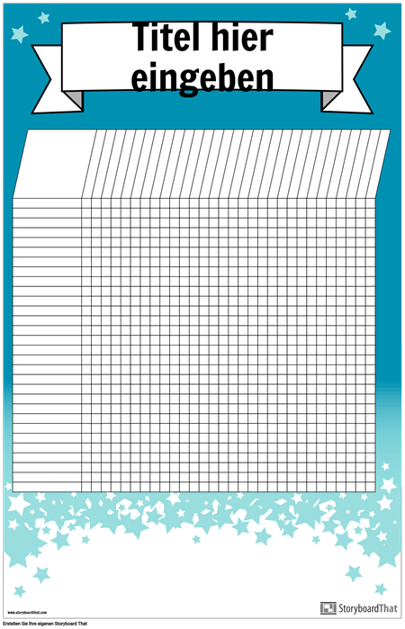 Student Chart Poster
