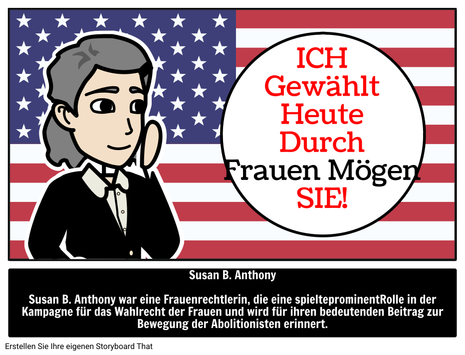 Susan B. Anthony | Illustrierter Leitfaden für Große ...