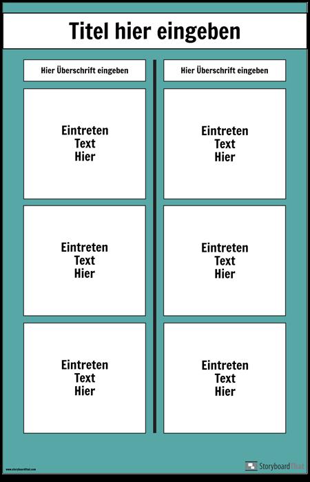 T-Diagramm-Plakat
