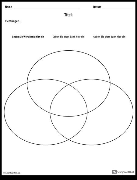 Venn Diagramm - 3