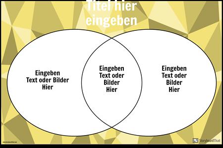 Venn-Diagramm 2 Kreise