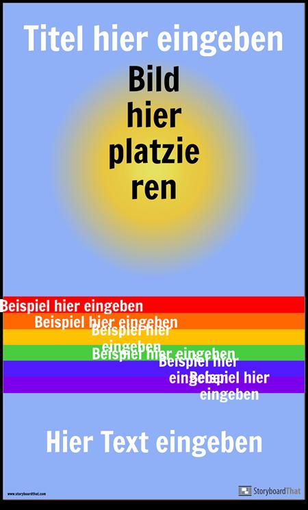 Visuelle Vocab Poster
