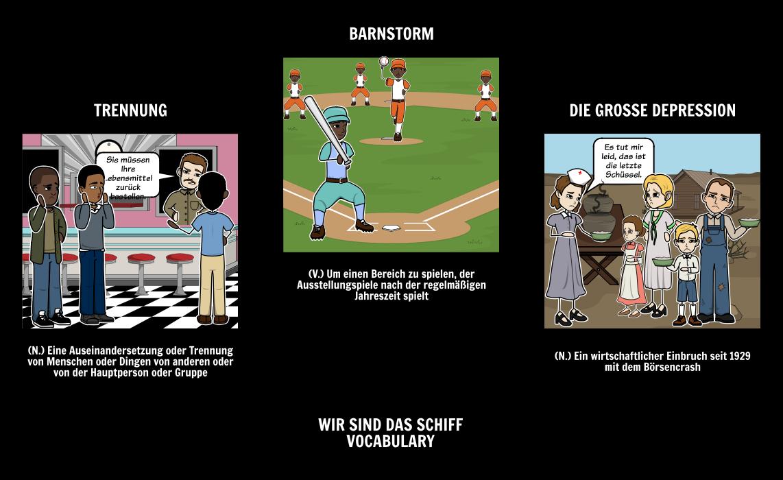 Wir Sind das Schiff | Neger Liga Baseball | Kadir Nelson