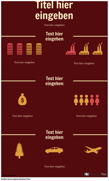 Wissenschaft Infographik Vorlage
