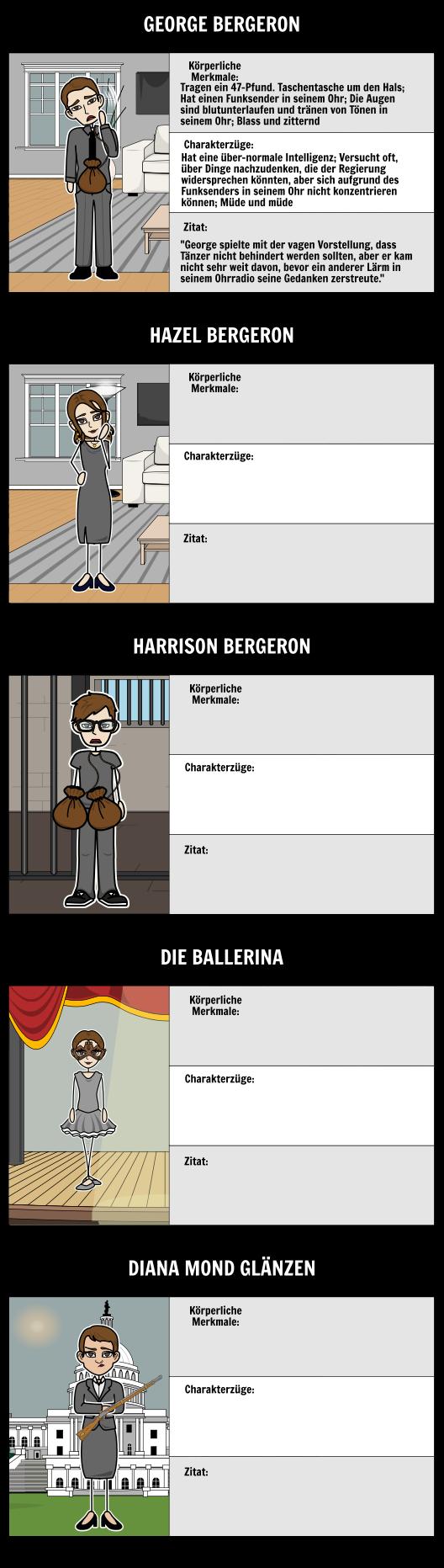Harrison Bergeron von Kurt Vonnegut   Harrison Bergeron Zusammenfassung