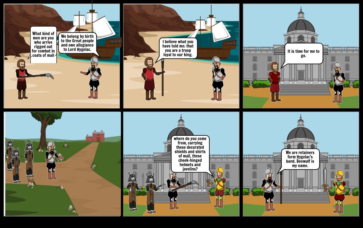 Beowulf Comic Strip