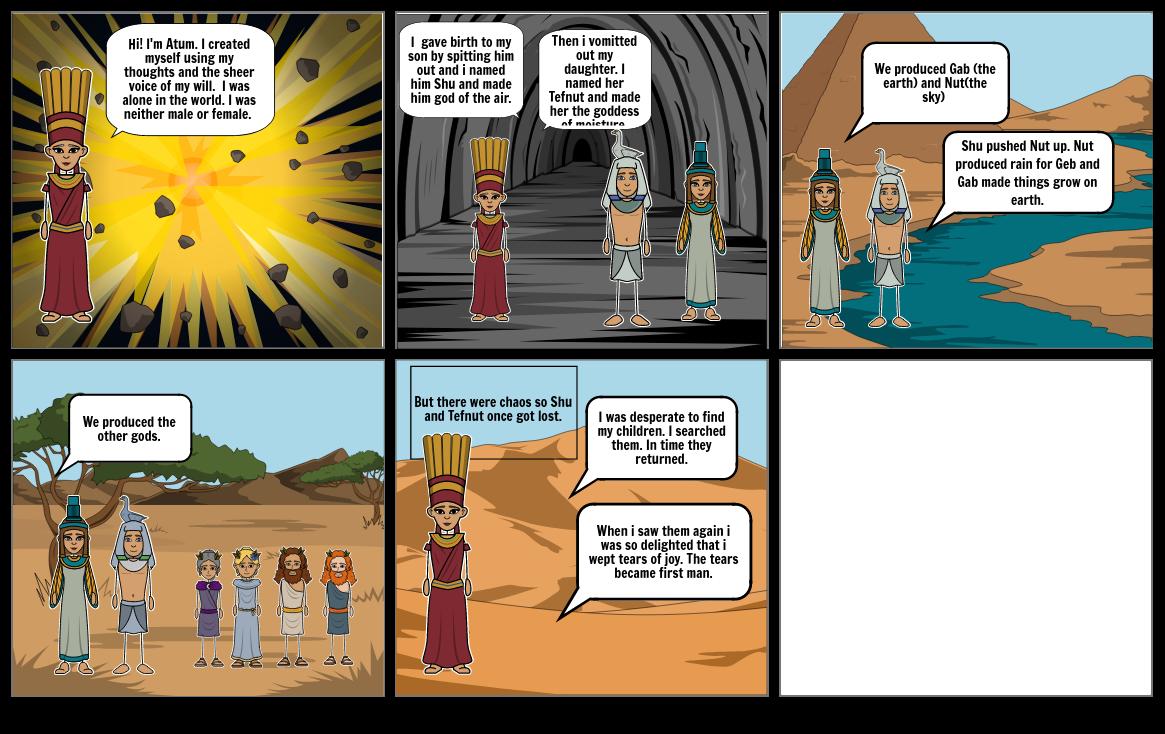 The Egyptian Myth
