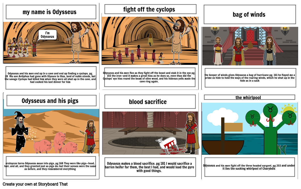 Odyssey Book 9-10