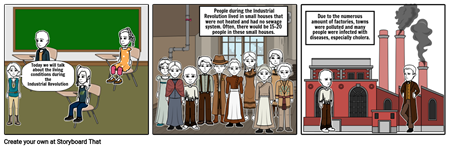 Living Conditions during Industrial Revolution