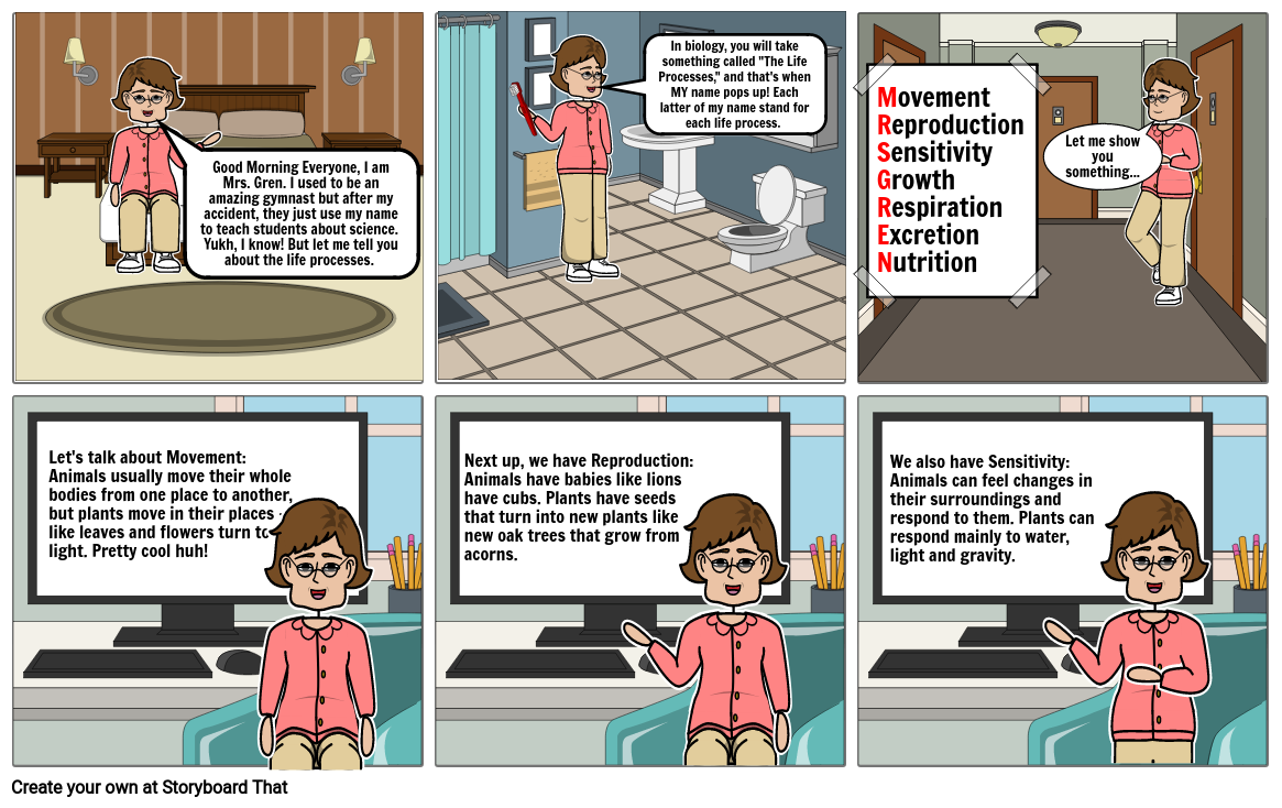 The Life Processes: Mrs. Gren (Part 1/2)