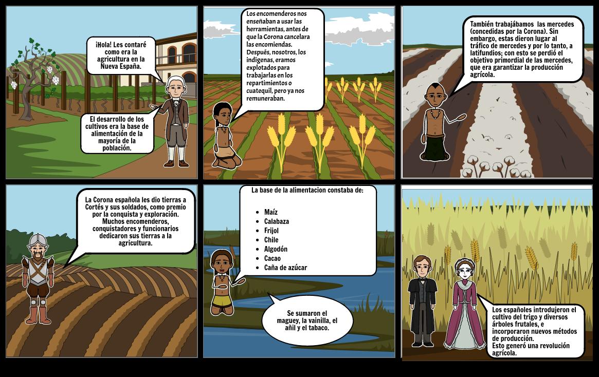 1424_Agricultura en la Nueva España