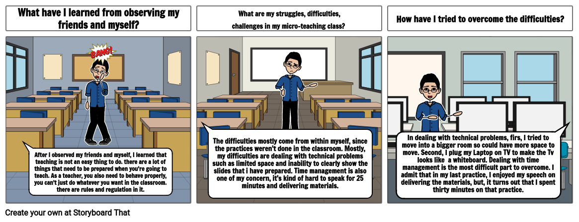Micro-Teaching Reflection