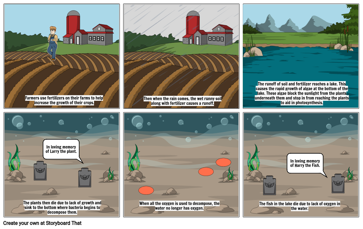 Process of Eutrophication