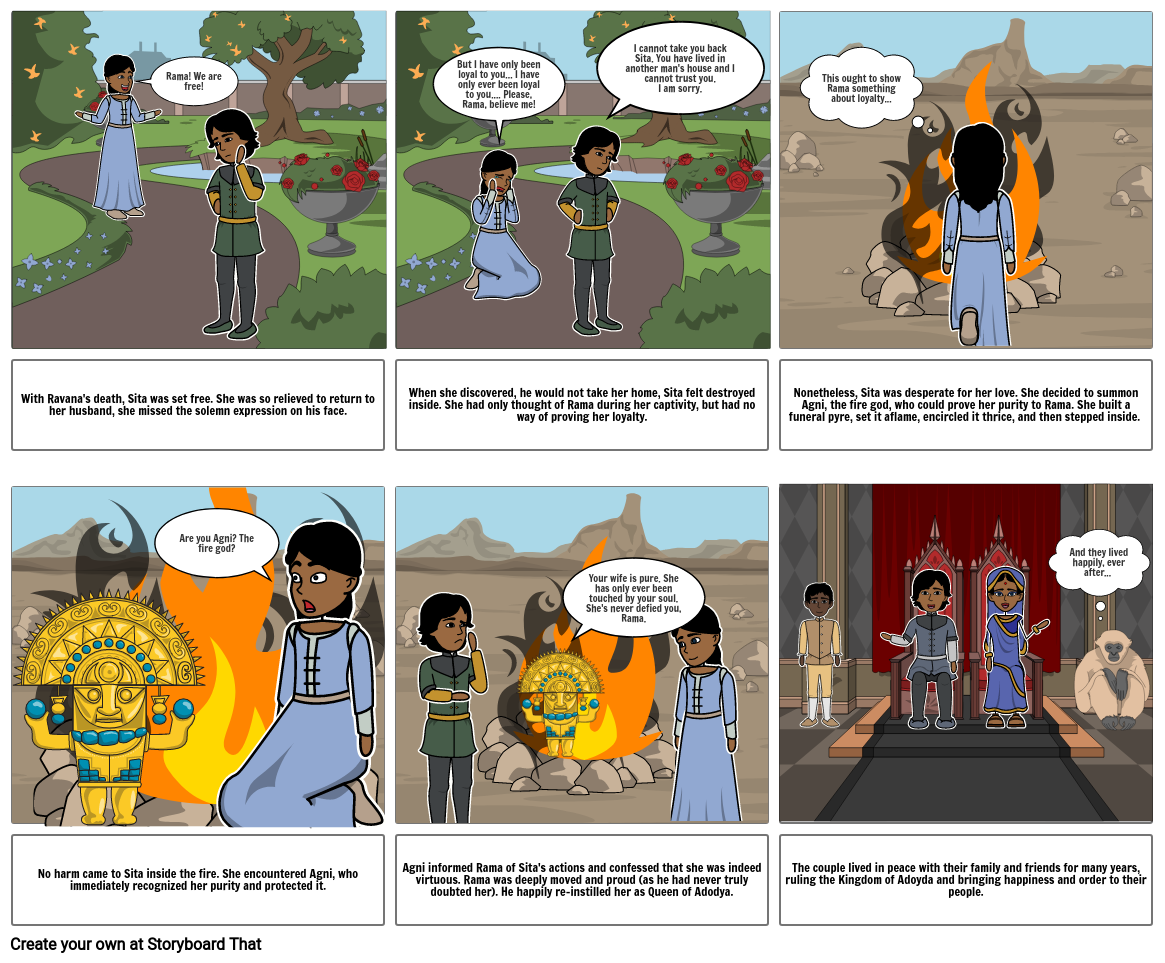 The Story of Ramayana- P6
