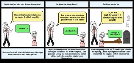 Dr. Wurst - Schutz-Impfung oder Schutz-Behauptung