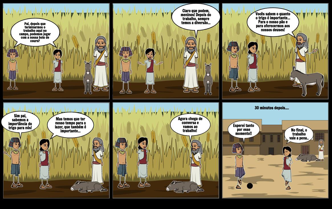 Dia-a-dia das crianças na Antiguidade