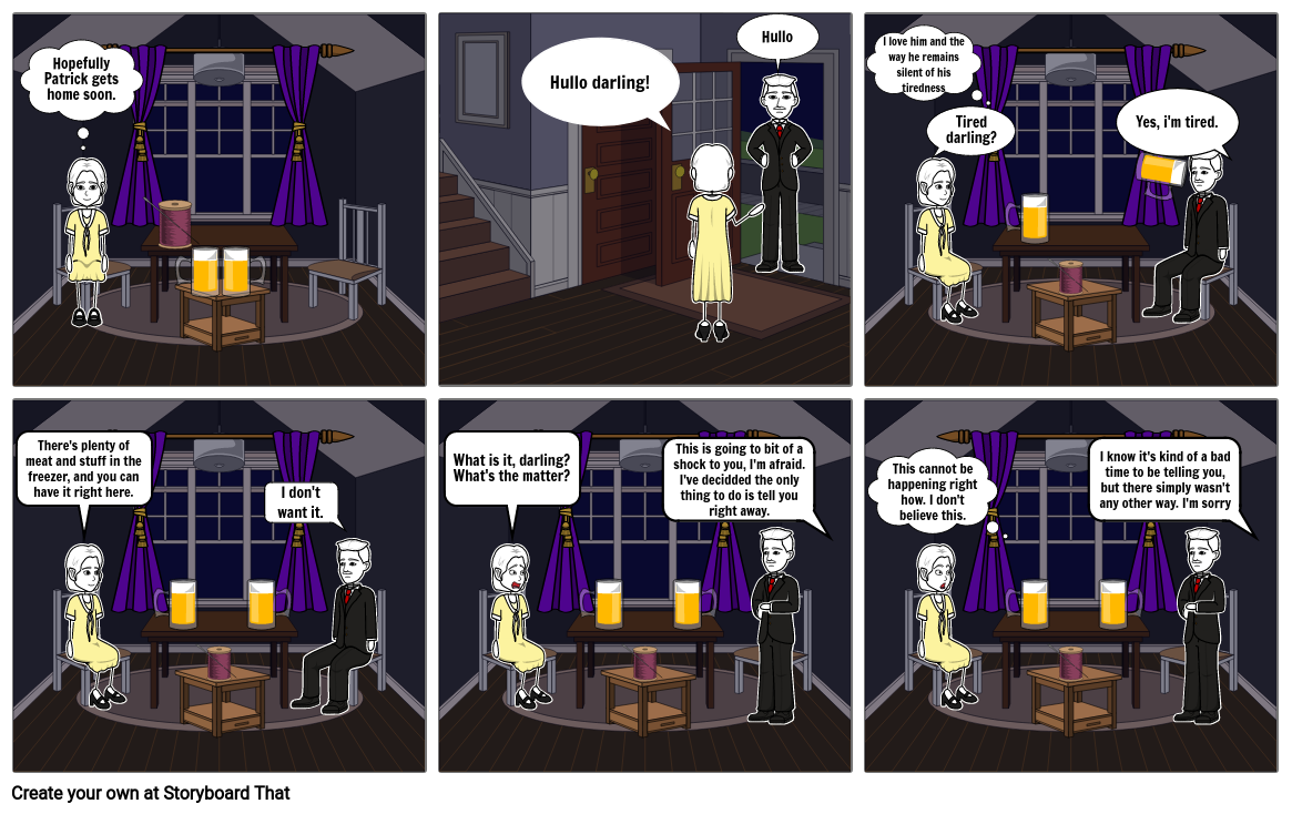 Lamb to the Slaughter Comic Strip