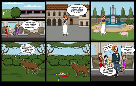 Storyteller Comic