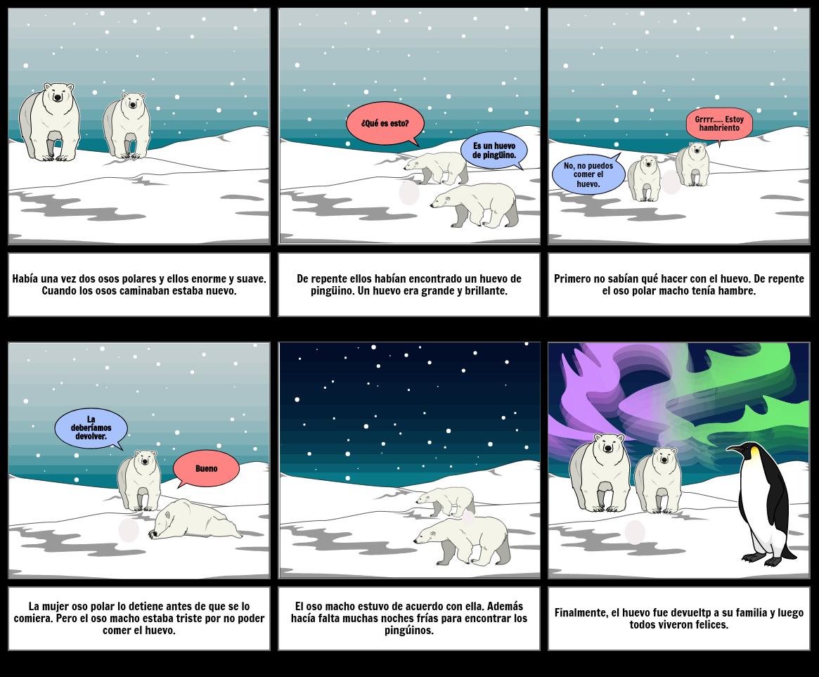 La Aventuras del Pinguino.