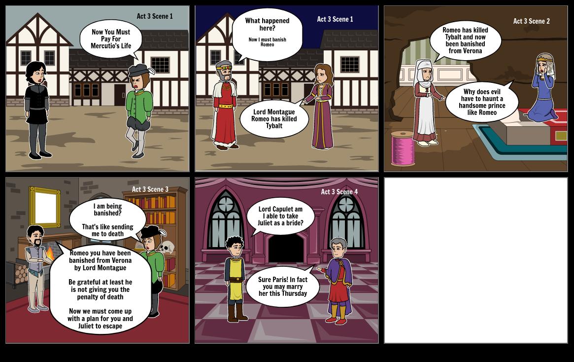 Jordan Valcin Period 5 Romeo and Juliet Assignment