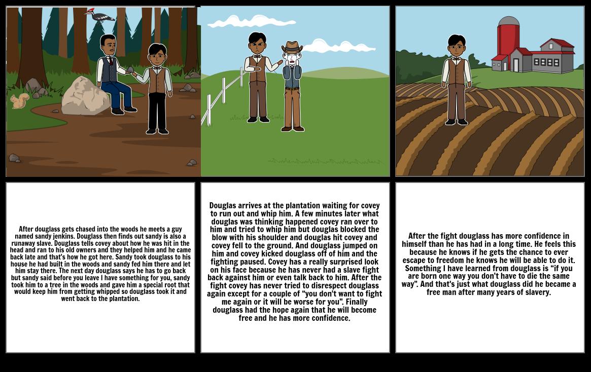 Douglass narrative ESSAY