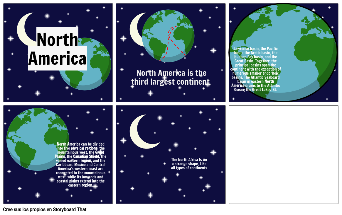 North America, formative part 2