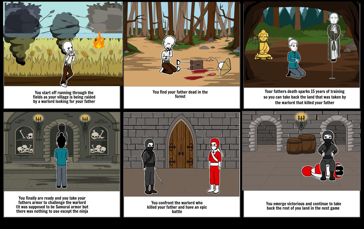 Game plot (Jaden Robinson)
