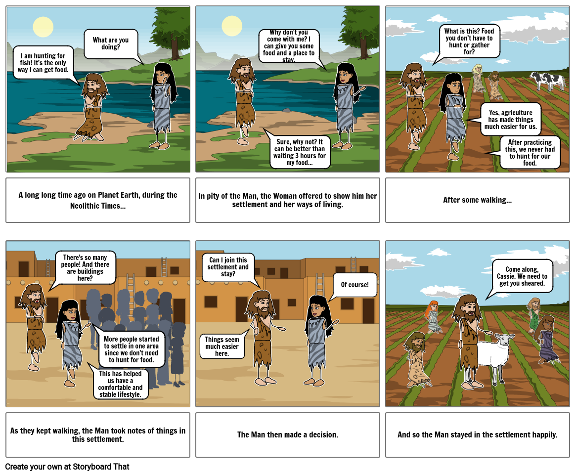 Neolithic Revolution Assignment