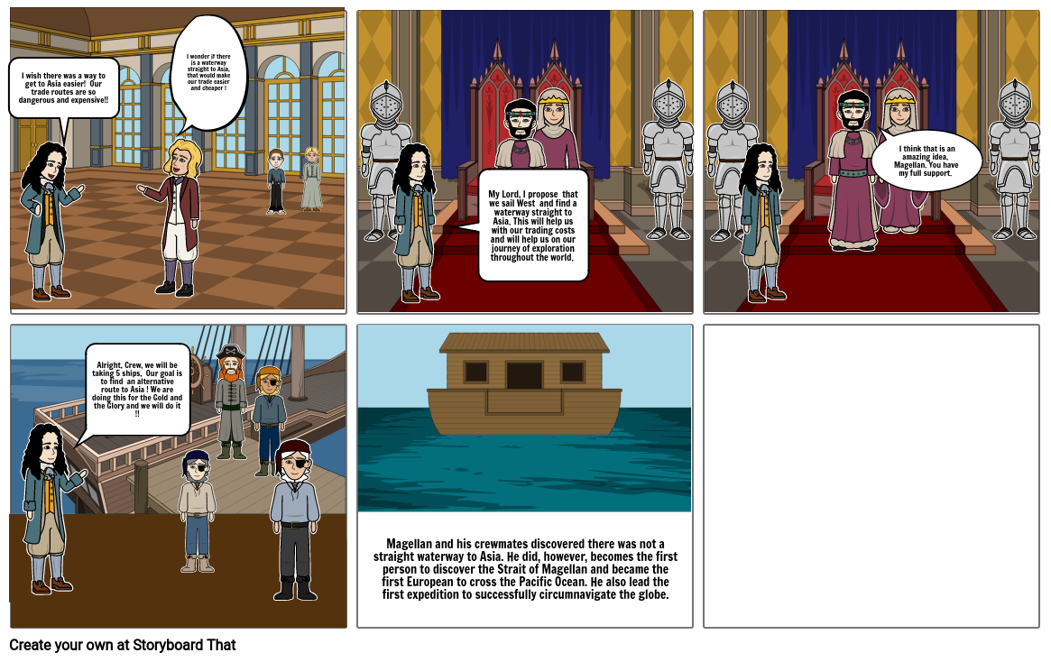 History Comic Strip Chapter 4
