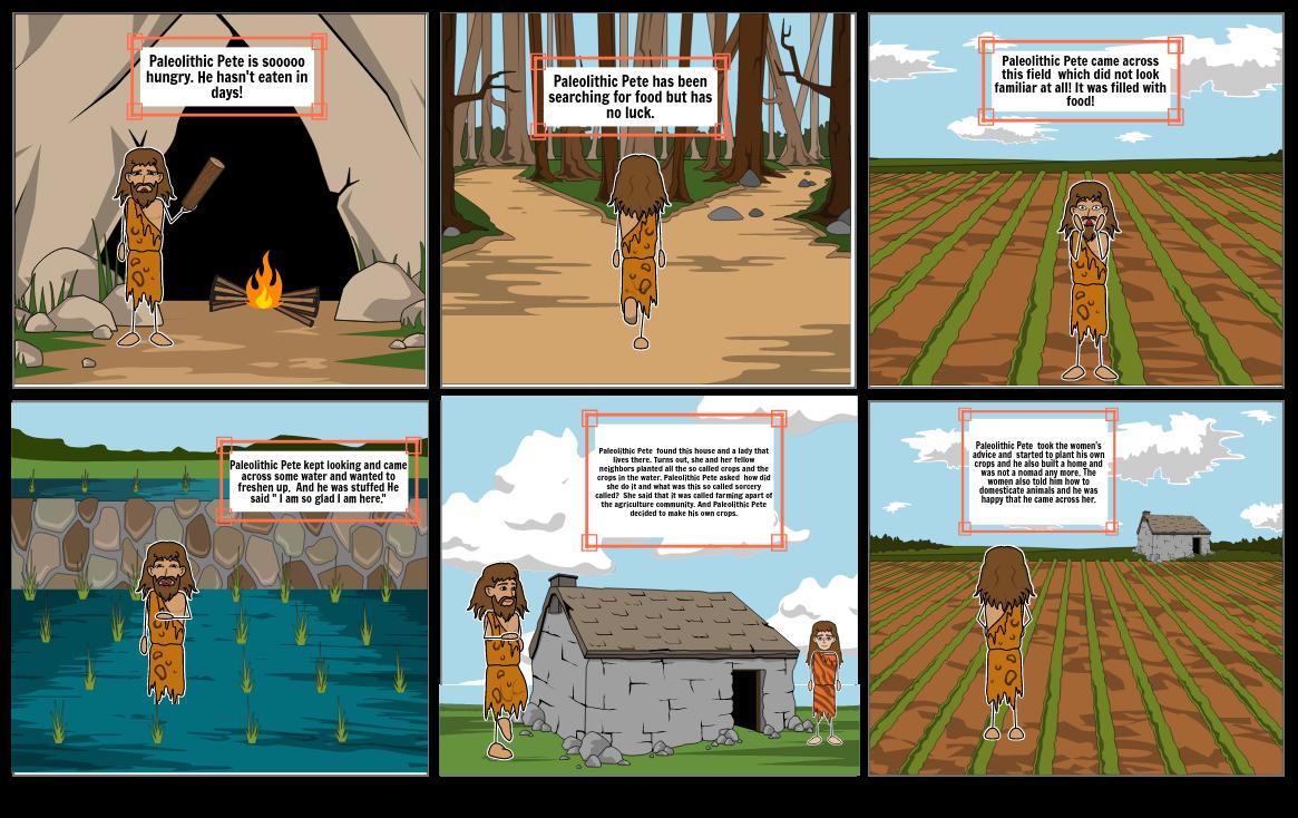 Comic for Paleolithic vs Neolithic