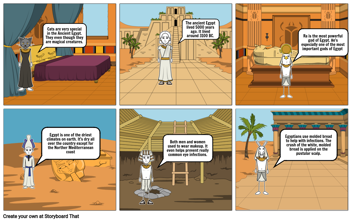 About the ancient Egypt