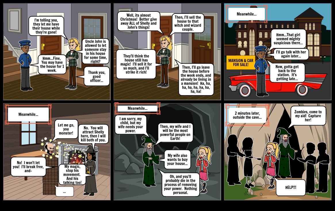 Shelly's Big Adventure: Storyboard 4