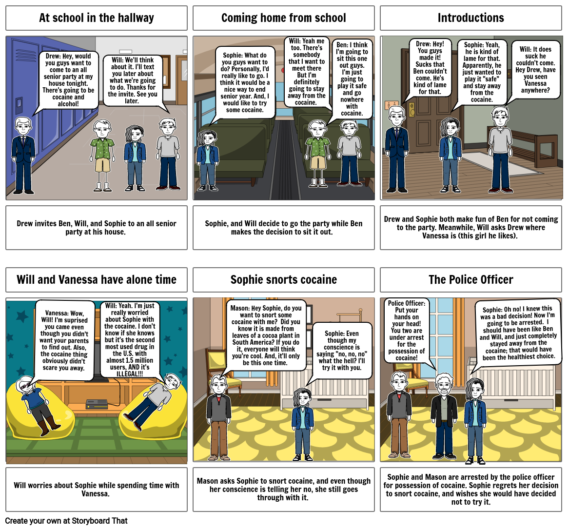 Comic Strip About DECIDE
