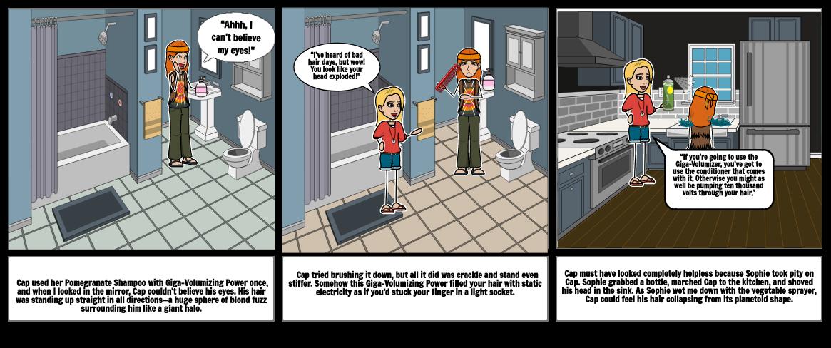 Schooled comic