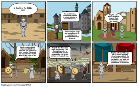 Middle Ages - The Life of a Knight