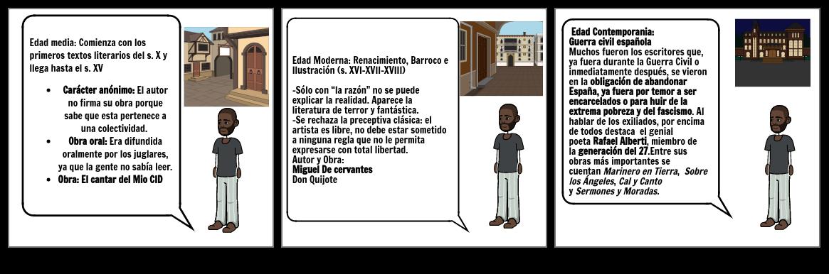 Historieta literatura Epsñola